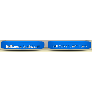 Ball Cancer Sucks - Silicon Wrist Band